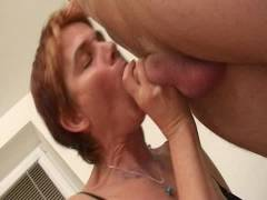 Grandma Gets Coitus in ano