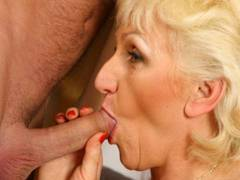 Blonde honey is screwing delicious