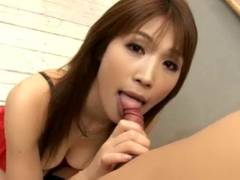 Ai Kurosawa as each good female student works for degree with honey pot