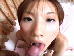 Japanese teen gets her tight hairy snatch boneed in POV Style