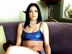 Busty Porn Star Twat Spreading