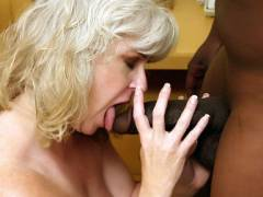 Mature MILF Stacey Interracial Movie