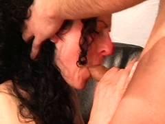 Ungeschminkt Amateur-Fotzen Im Sex-Verhor