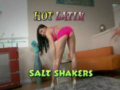 Hot Latin Salt Shakers