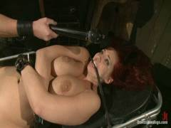 Device Bondage: Kelly Divine: Stretched, Screwed, Flogged, And Squirting Everywhere, Rosebud Exposed