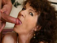 Horny MILF begs for more get into somebody's pantsing