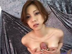 Super Hotey Miho Maejima Works Hard To Make Her Man Sticky juice